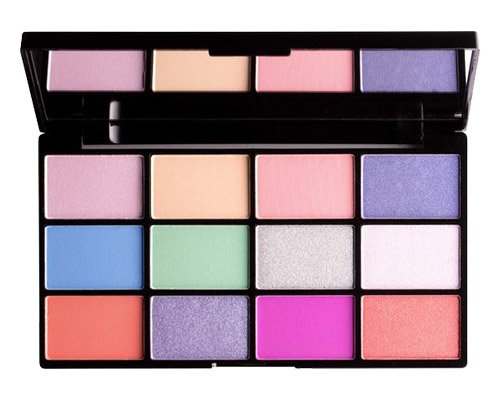 glam junkies neu nyx in your element shadow palette. Black Bedroom Furniture Sets. Home Design Ideas