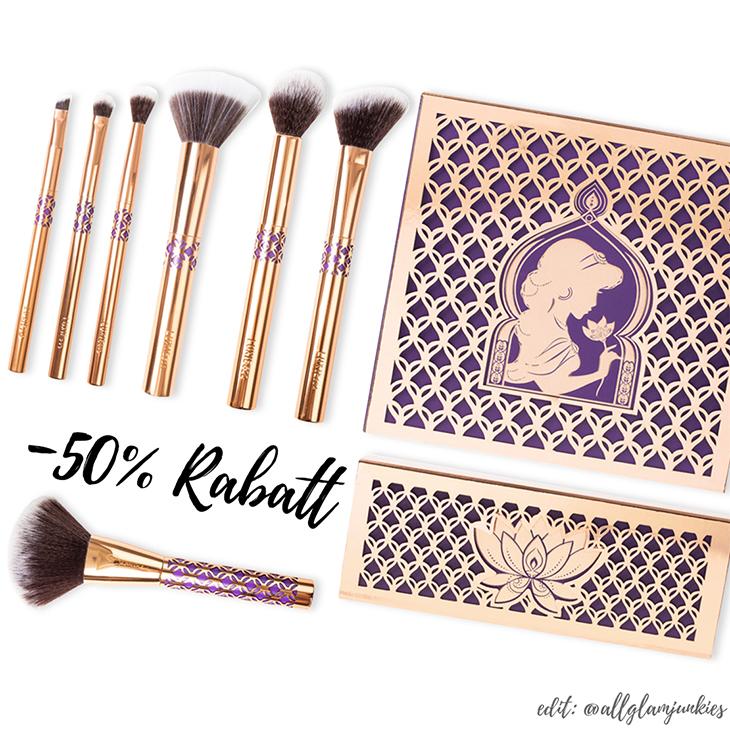 princess jasmine makeup brush set mugeek vidalondon