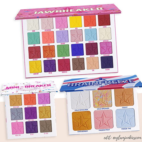 Break Down of the Jeffree Star Cosmetics Jawbreaker Summer