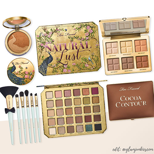 Too Faced Natural Lust Collection Glam Junkies