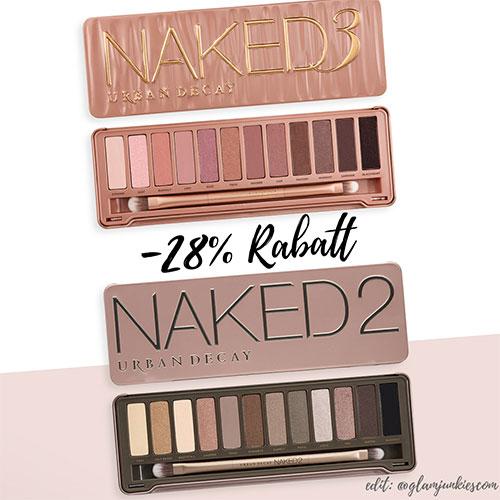 Urban Decay Naked Basics Eyeshadow Palette - Lidschatten