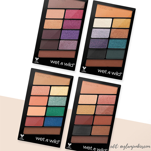 Neu Wet N Wild Beauty Color Icon 10 Pan Lidschatten Paletten Neue Farben Glam Junkies